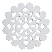 Buy House by John Lewis Snowflake Trivet Online at johnlewis.com