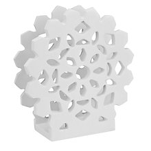 Buy House by John Lewis Snowflake Napkin Holder Online at johnlewis.com