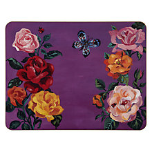 Buy Avenida Placemat, Rose Border Online at johnlewis.com