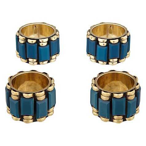Buy John Lewis Medina Napkin Ring, Set of 4 Online at johnlewis.com