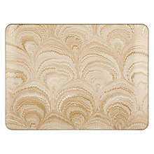 Buy Avenida Marbling Placemat, Cream Online at johnlewis.com