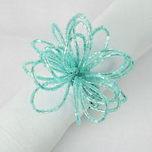 Buy John Lewis Flower Bead Napkin Ring Online at johnlewis.com