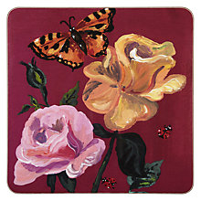 Buy Avenida Placemat, Damask Rose Online at johnlewis.com