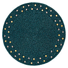 Buy John Lewis Medina Bead Placemat Online at johnlewis.com