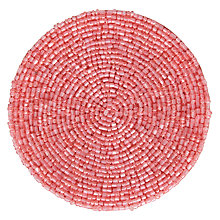 Buy John Lewis Glass Bead Coaster, Set of 2 Online at johnlewis.com