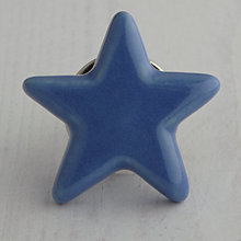 Buy Bombay Duck Ceramic Star Cupboard Knob, Dia.70mm Online at johnlewis.com