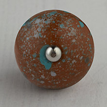Buy Bombay Duck Contrast Dot Ceramic Cupboard Knob, Dia.45mm Online at johnlewis.com