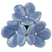 Buy Bombay Duck Ceramic Flower Posy Knob, Dia.45mm Online at johnlewis.com