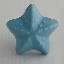 Buy Bombay Duck Ceramic Starfish Cupboard Knob, Dia.45mm Online at johnlewis.com