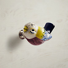 Buy John Lewis Bird Ceramic Cupboard Knob, Multi Online at johnlewis.com