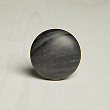 Buy John Lewis Baselana Marble Cupboard Knob, Dia.40mm Online at johnlewis.com