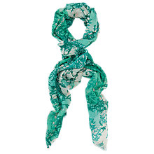 Buy French Connection Tree Print Scarf Online at johnlewis.com