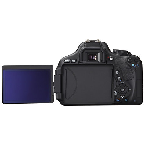 "Buy Canon EOS 600D Digital SLR Camera with 18-55mm Non IS Lens, HD 1080p, 18MP, 3"" Screen Online at johnlewis.com"