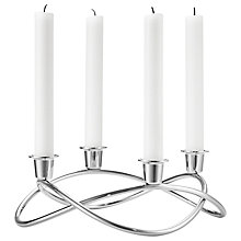 Buy Georg Jensen Season Candleholder + FREE candles Online at johnlewis.com