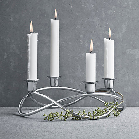 buy georg jensen season candleholder john lewis. Black Bedroom Furniture Sets. Home Design Ideas