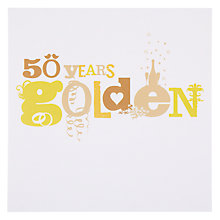 Buy Card Mix 50 Years Anniversary Card Online at johnlewis.com