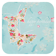 Buy Card Mix Butterflies Birthday Card Online at johnlewis.com