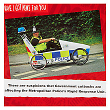 Buy Card Mix Policeman in Buggy Greeting Card Online at johnlewis.com