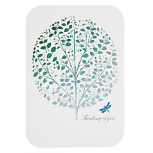 Buy Card Mix Thinking Tree Sympathy Card Online at johnlewis.com