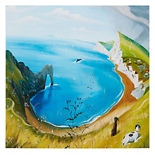 Buy Paperhouse Above Durdle Door Greeting Card Online at johnlewis.com