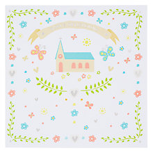 Buy Hotchpotch Baby's Christening Card Online at johnlewis.com