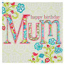 Buy Laura Darrington Happy Birthday Mum Card Online at johnlewis.com