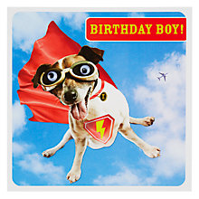 Buy Paperlink Birthday Boy Card Online at johnlewis.com