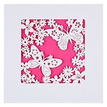 Buy Paperlink Butterflies Birthday Card Online at johnlewis.com