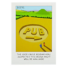 Buy Paperlink Crop Circle Greeting Card Online at johnlewis.com