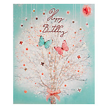 Buy Art File Butterfly Tree Greeting Card Online at johnlewis.com