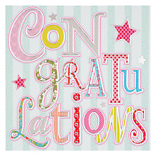 Buy Laura Darrington Congratulations Card Online at johnlewis.com