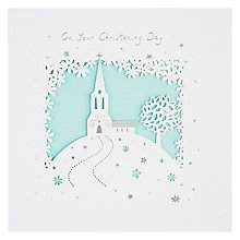 Buy Paperlink Christening Day Card Online at johnlewis.com