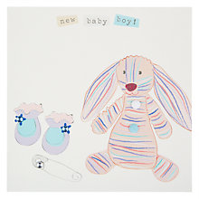 Buy Belly Button Marmalade New Baby Boy Greeting Card Online at johnlewis.com