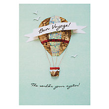 Buy Hotchpotch Bon Voyage Leaving Card Online at johnlewis.com