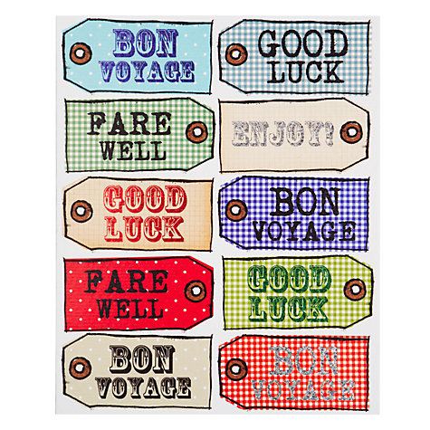 Buy Really Good Bon Voyage Leaving Card Online at johnlewis.com