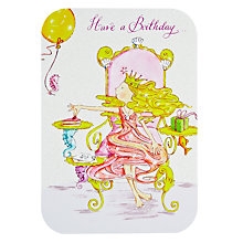 Buy Woodmansterne Piece of Cake Birthday Card Online at johnlewis.com