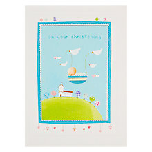 Buy James Ellis Stevens Christening Basket Card Online at johnlewis.com