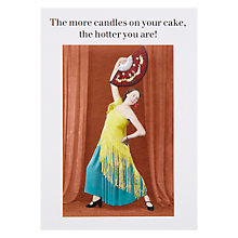 Buy Cath Tate Cards More Candles on Your Cake Greeting Card Online at johnlewis.com