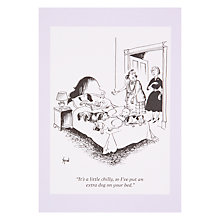 Buy Woodmansterne Dogs On Bed Greeting Card Online at johnlewis.com