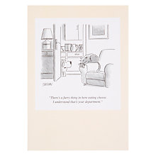 Buy Woodmansterne Furry Thing Greeting Card Online at johnlewis.com