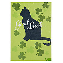 Buy Hotchpotch Good Luck Greeting Card Online at johnlewis.com
