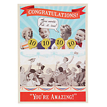 Buy Hotchpotch Fab'u'olus Congratulations Card Online at johnlewis.com