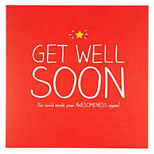 Buy Pigment Get Well Soon Card Online at johnlewis.com