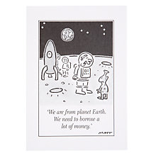 Buy Woodmansterne From Planet Earth Greeting Card Online at johnlewis.com