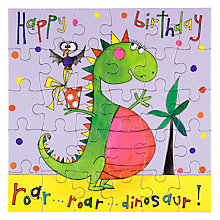 Buy Rachel Ellen Happy Birthday Dinosaur Birthday Card Online at johnlewis.com