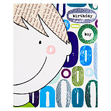 Buy Really Good Happy Birthday Boy Card Online at johnlewis.com