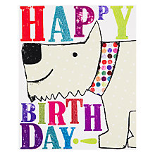 Buy Really Good Happy Birthday Dog Card Online at johnlewis.com