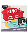 Hotchpotch King of The Couch Birthday Card