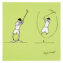 Buy Woodmansterne Golf Swing Greeting Card Online at johnlewis.com