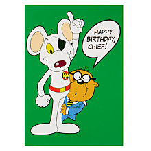 Buy Hype Danger Mouse Chief Birthday Card Online at johnlewis.com